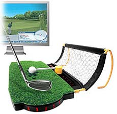 golfsimulator Golf Launchpad   USB Golf Simulator