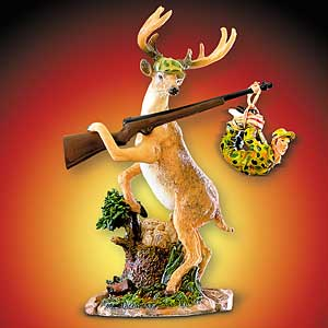 deer hunter statue Deer Hunter