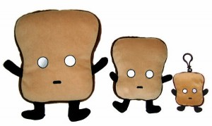 mr toast doll 300x179 Mr. Toast Plush Dolls