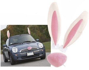 carcostume easter 300x238 Easter Bunny Car Costume