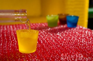 gummy shots pour 300x199 Gummy Shot Glasses