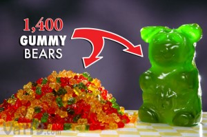 worlds largest gummy bear 1400 300x199 Worlds Largest Gummy Bear
