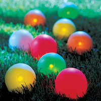 lighted bocce balls Lighted Bocce Ball Set