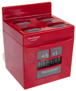 done right kitchen timer red 250x300 5 in 1 Kitchen Timer
